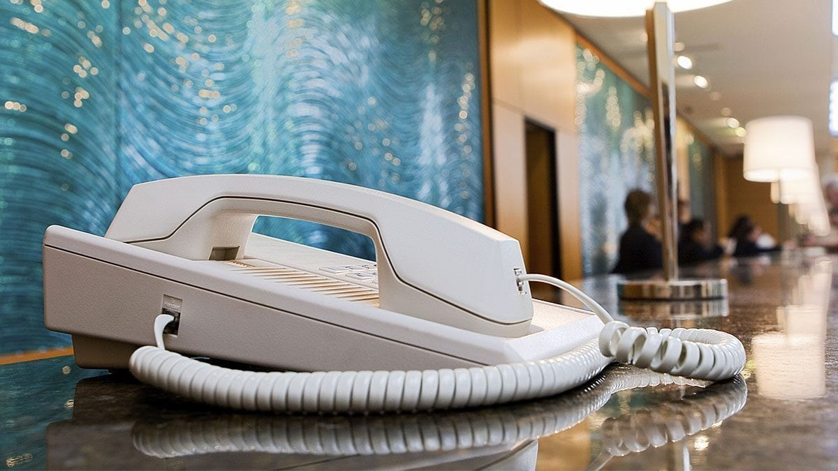 Even with advancements in communication technology, hotel landlines have endured.