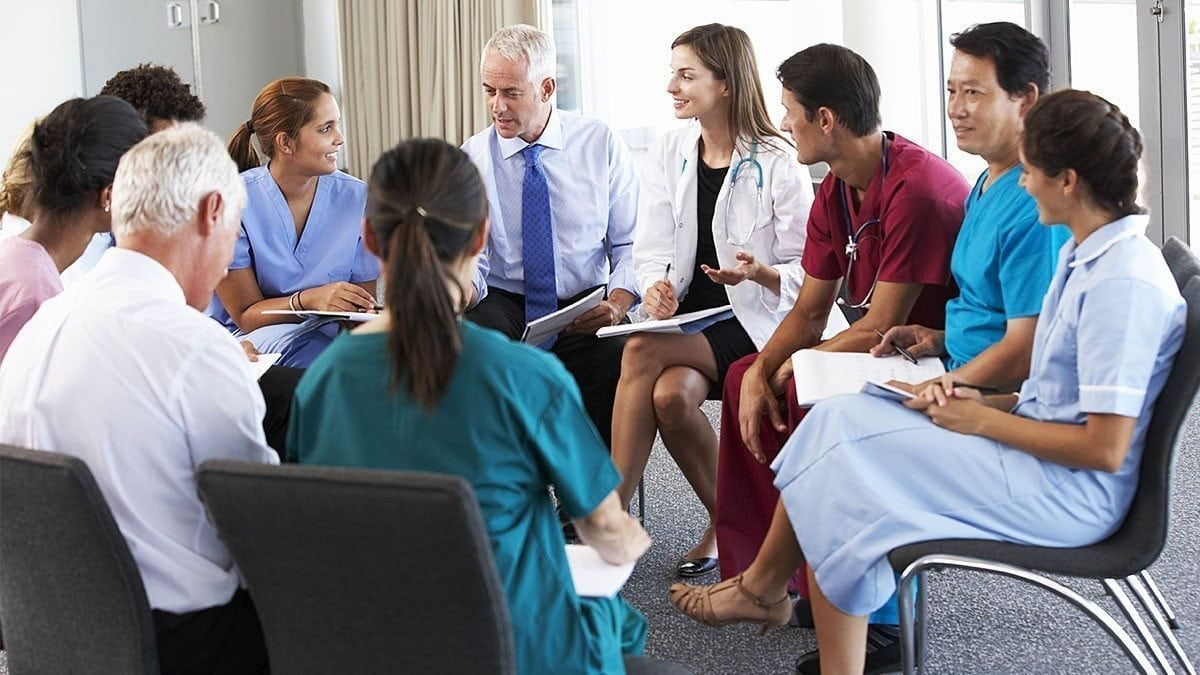 Many healthcare facilities have regular seminars and workshops to improve staff skills.