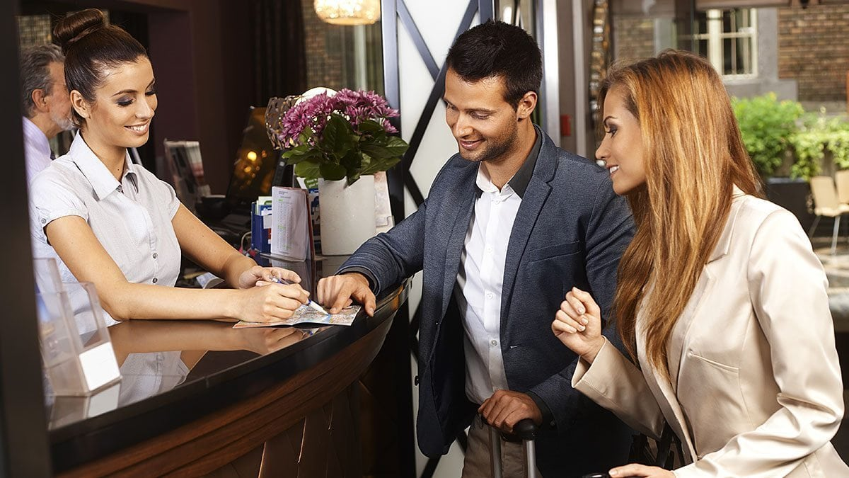 Impress a guest? Be sure to encourage them to share their positive hotel experiences online.
