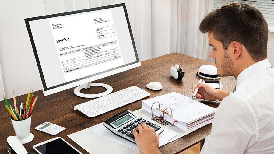 After sending an invoice, make sure to credit the sales account and debit accounts receivable