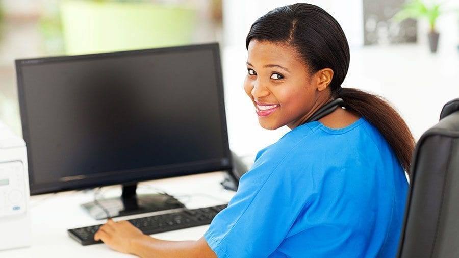 Health Unit Coordinators are trained to use industry-standard administrative software