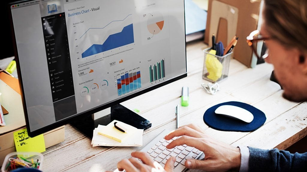 Dashboards provide a quick overview of key company metrics