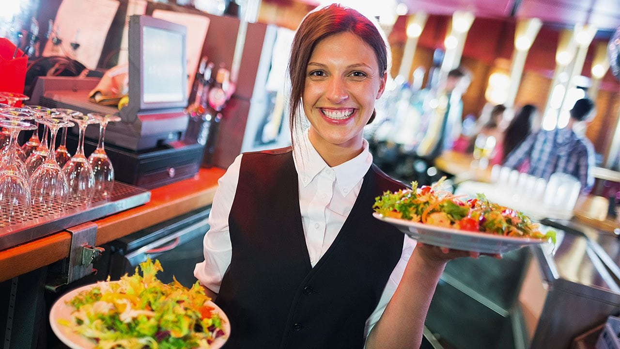 Our hospitality program will help you learn to offer amazing food and beverage service