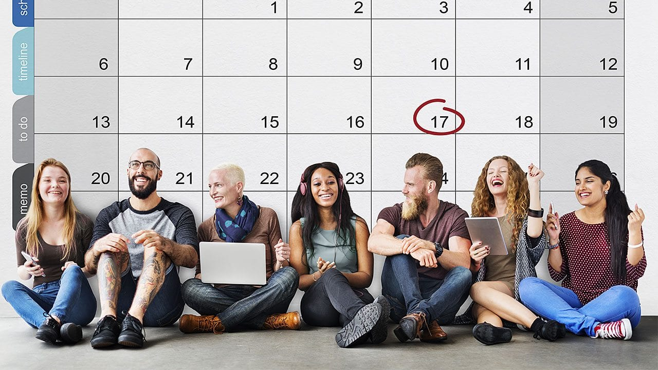 Keep track of dates for upcoming events or deadlines, and focus on the items that need your attention most