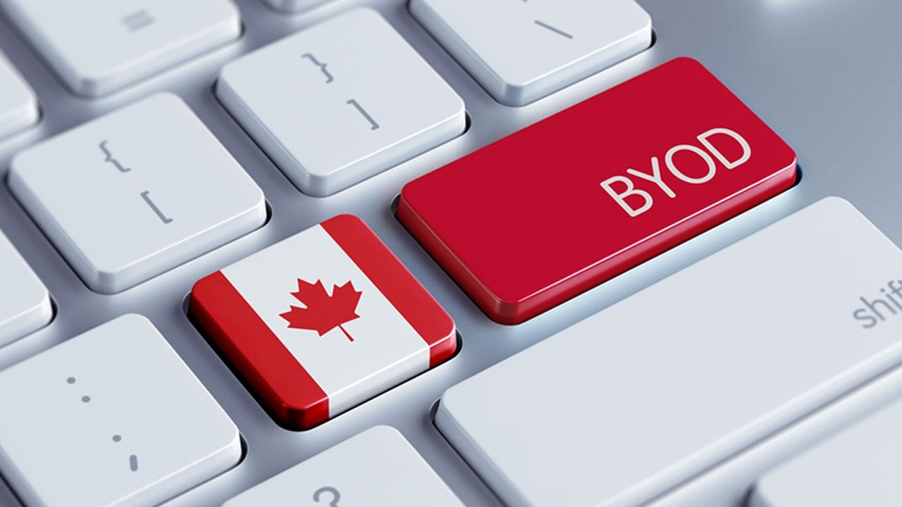 The BYOD trend is becoming increasingly prevalent in the working world