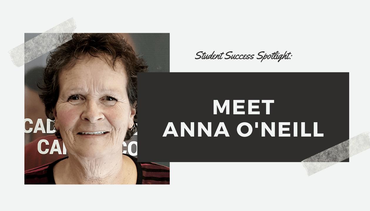 Student Success Spotlight: Meet Anna O'Neill