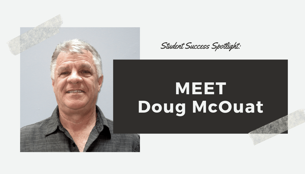Student Success Spotlight: Meet Douglas McOuat