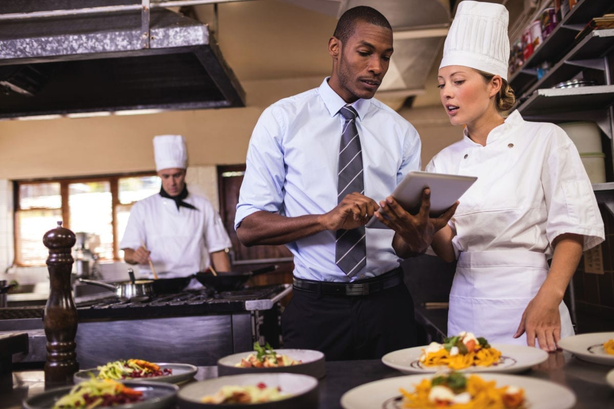 Restaurant managers thrive in fast-paced environments