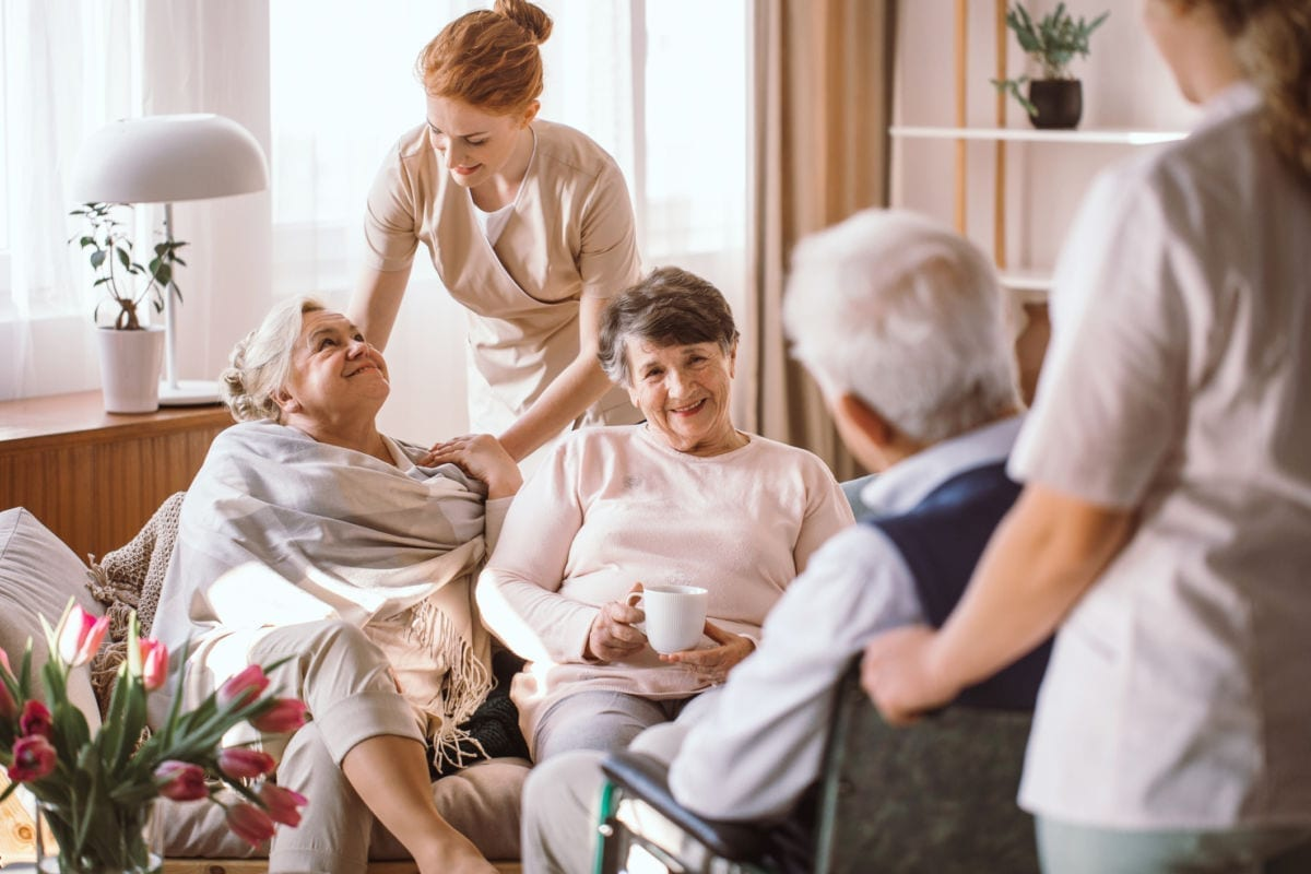Working at a nursing home is a great opportunity if you're passionate about helping others
