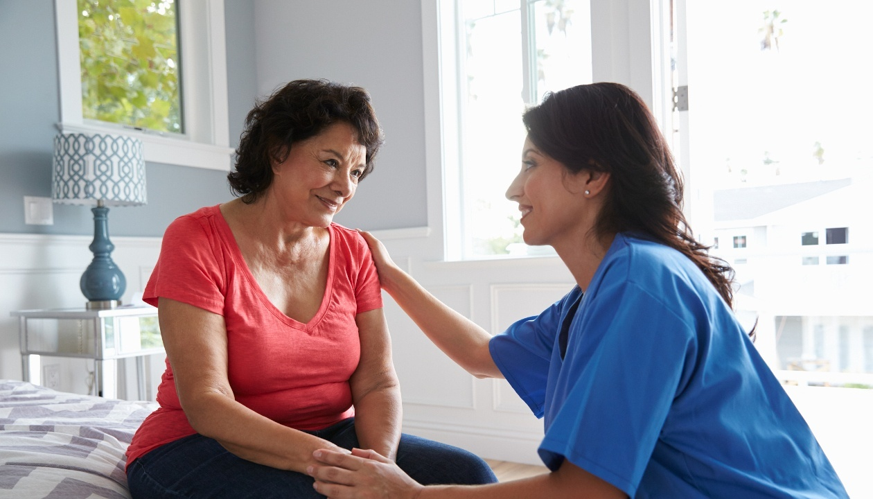 You will have the opportunity to invest in meaningful relationships through care work