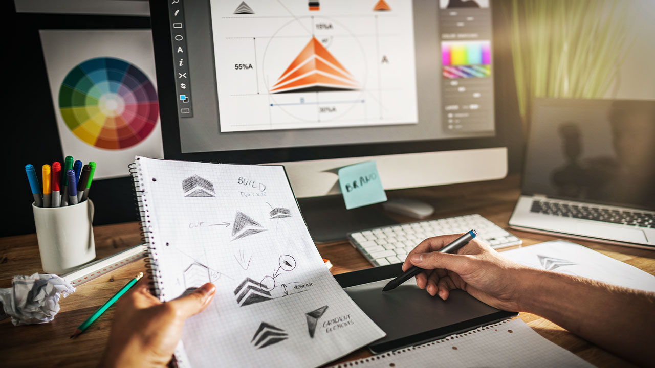Making the Perfect Logo with Graphic Design Training