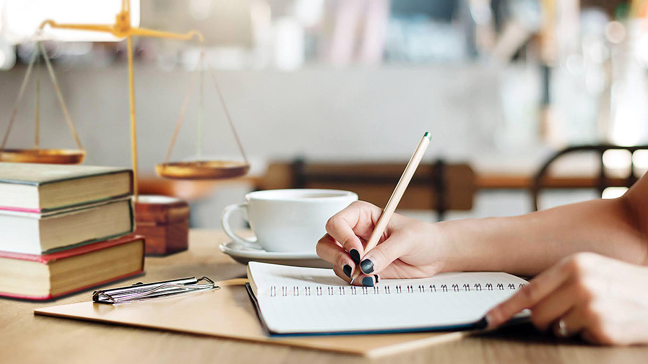 Organizational skills will help you to succeed throughout your career as a legal assistant
